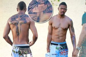 A-ripped-Nick-Cannon-shows-off-his-Mariah-tattoo-cover-up-job-at-a-gym-following-a-workout-in-Studio-City-Nothing-says